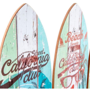 DETALLE CUADRO MADERA TABLA SURF