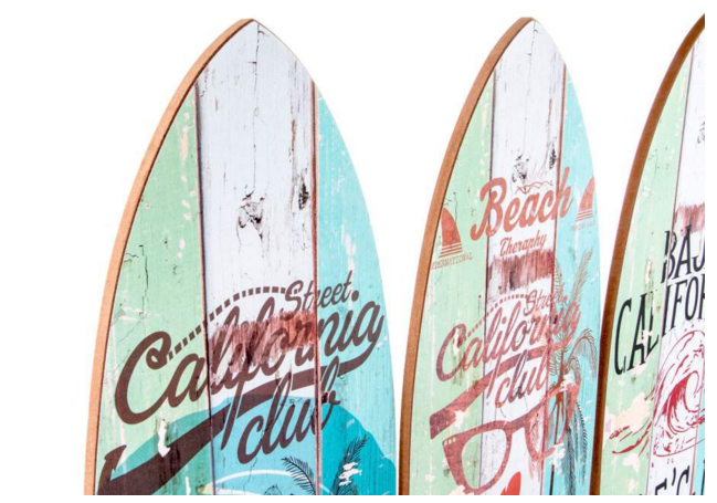 Tabla surf pared gr cosas de casa ambientes - Tabla surf decoracion ...