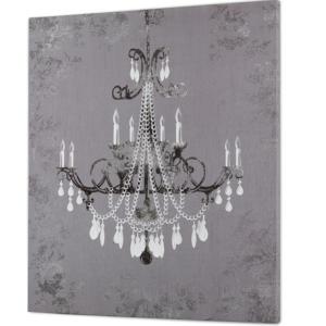 Oleo lámpara tonos grises/blancos. 37,40 € ambientesydecoracion.com