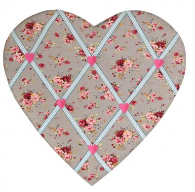 panel fotos corazon gris